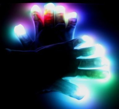 LED Gloves (1 Set)