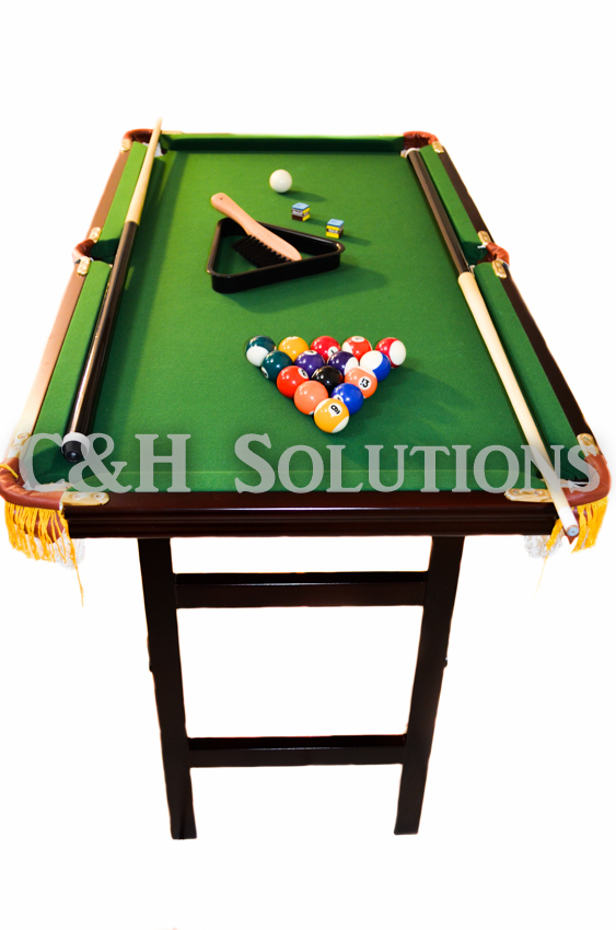 Deluxe Folding Pool Table EXTRA LARGE 44""