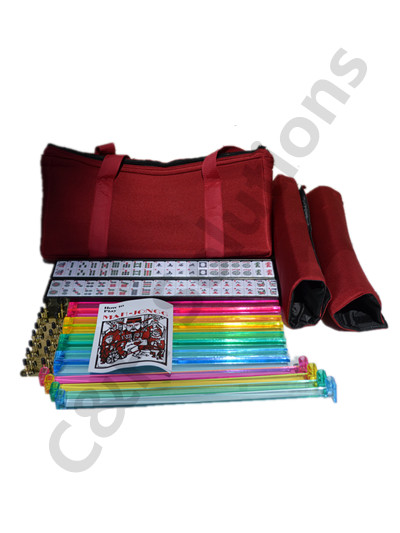 Burgundy Bag 4 Color Racks 4 Color Pushers