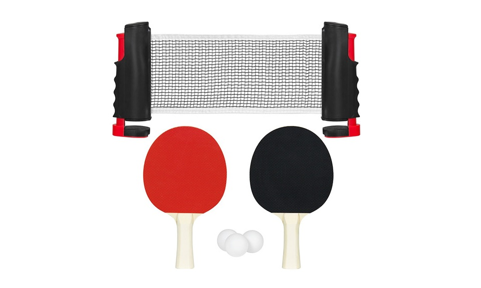 Portable Table Ping Pong Indoor Or Outdoor Set