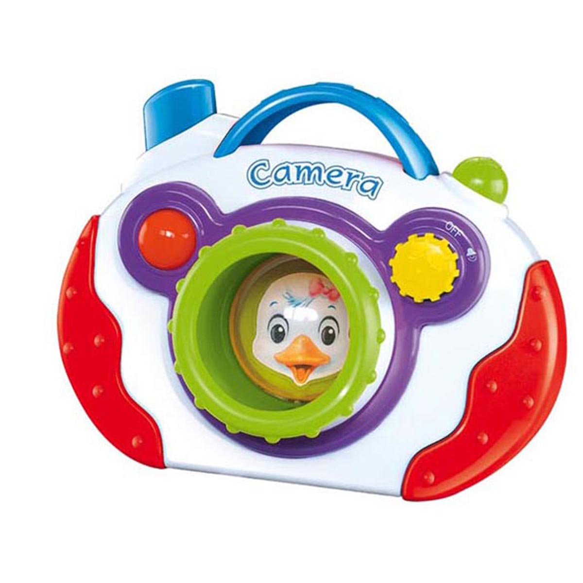 Smartots Smile For the Camera Baby Toy (Multicolor)