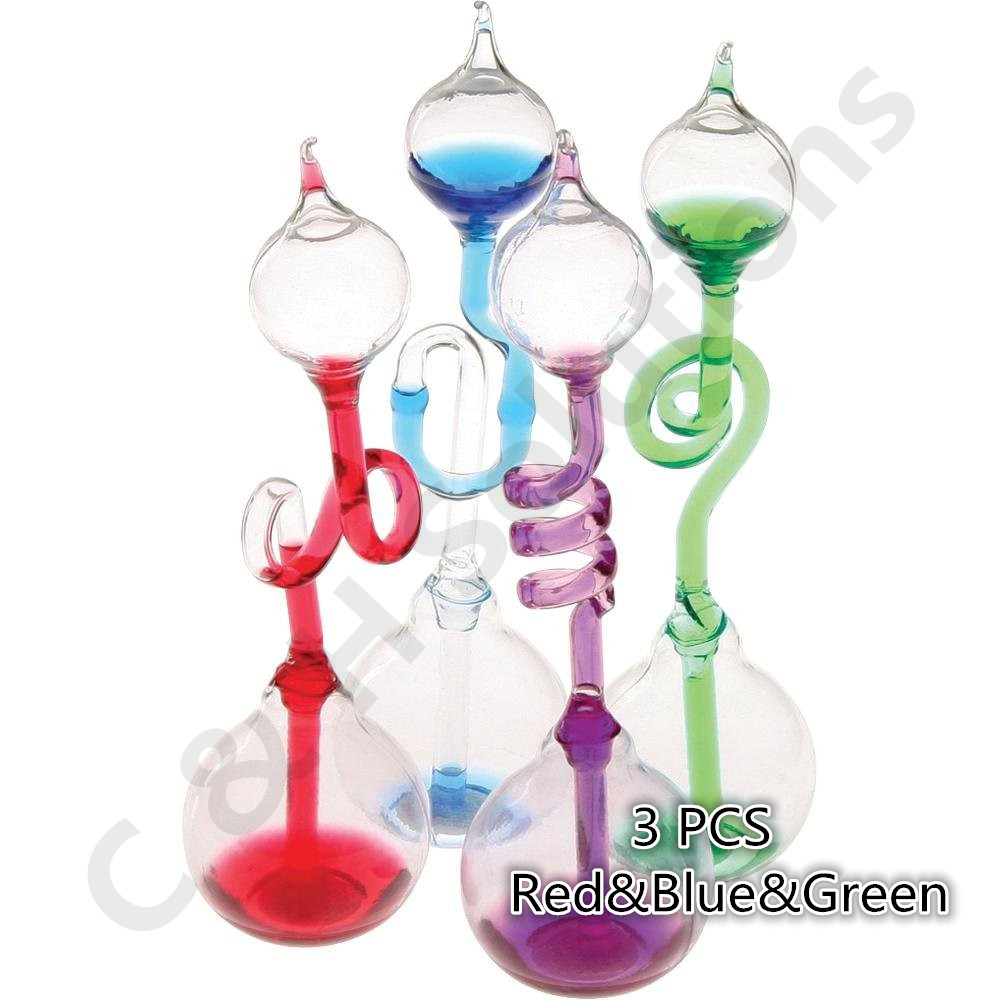 Color Glass Meter Hand Boiler 3 PCS (Red&Blue&Green)