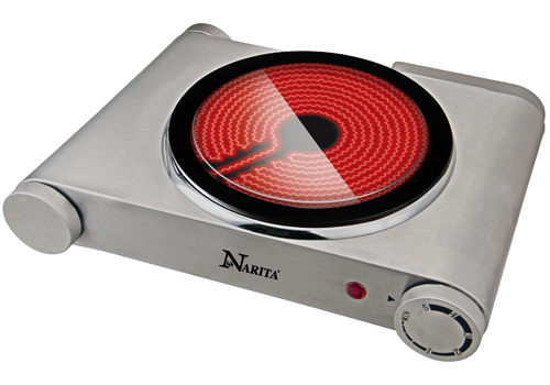 Ceramic infrared cooktop