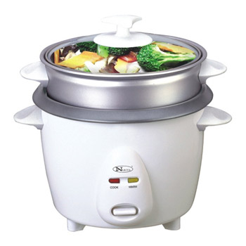 10 Cups Rice cooker with steamer