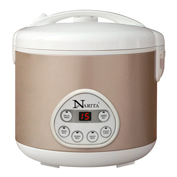 6 Cups Digital Rice Cooker with steamer
