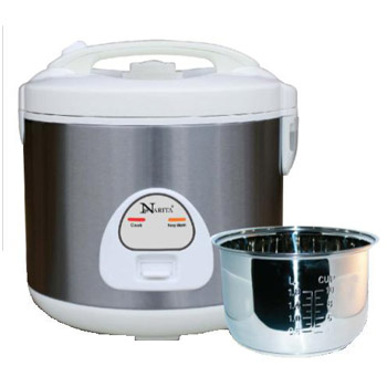 6 Cup Rice Cooker / Stainless Steel Inner Pan