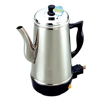 Electric Whistling Kettle / Stainless Steel
