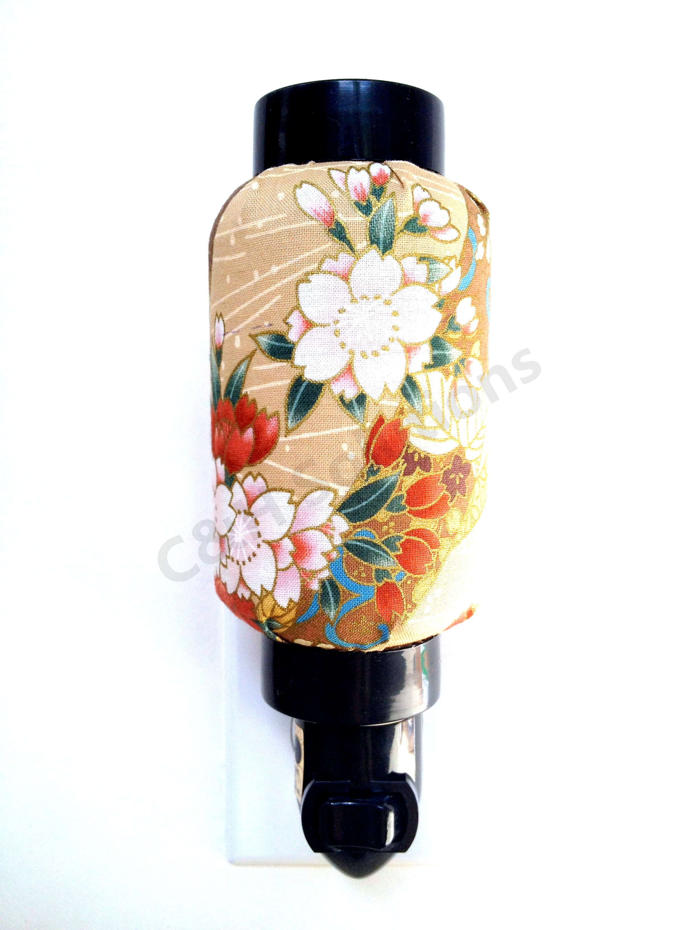 Eastern Classical Flower Japanese Oriental Style Decorative Night Light