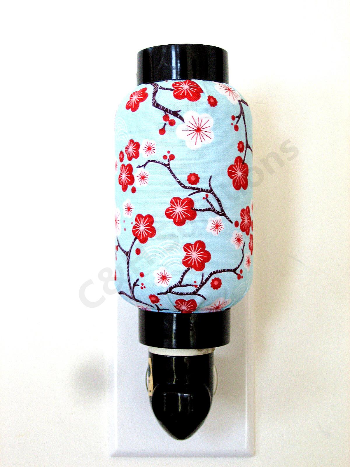Plum Blossom Oriental Style Decorative Night Light