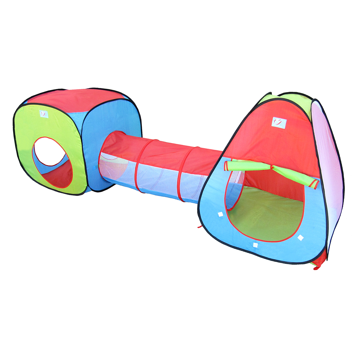 Tents and Tunnel Play Set