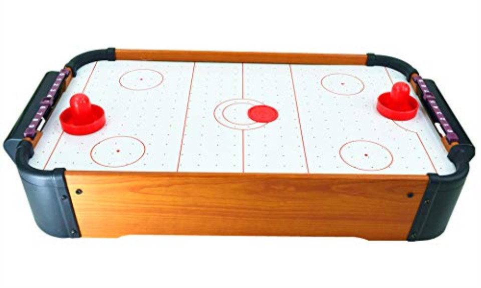 Air Hockey Game with 4 Pucks & 2 Pushers