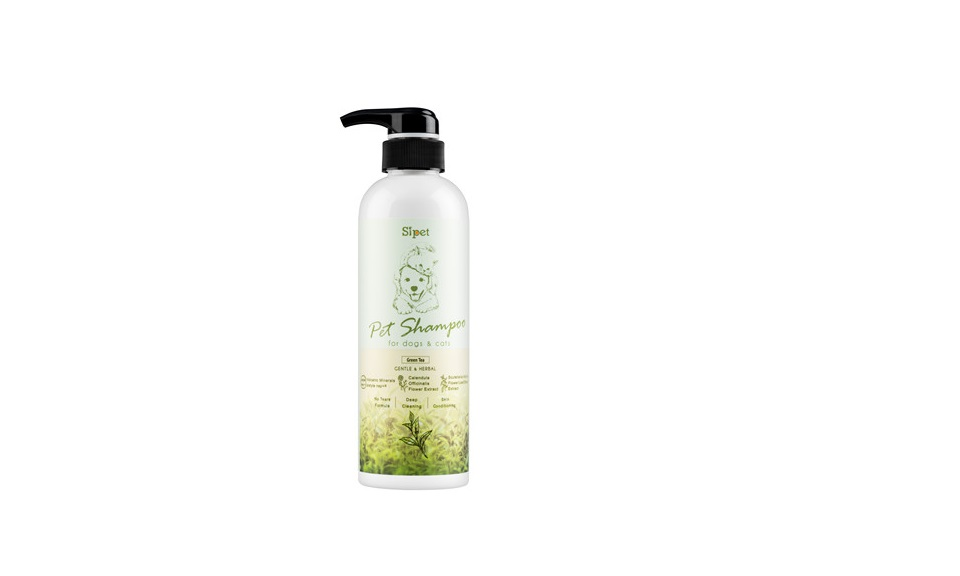 Sipet 500 ml Pets Shampoo-Green Tea