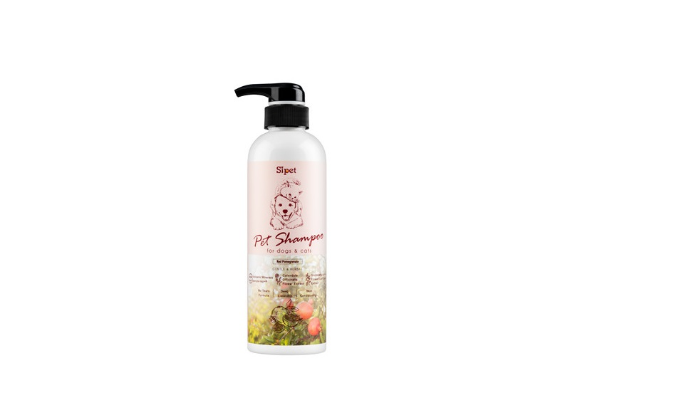 Sipet 500 ml Pets Shampoo-POMEGRANATE
